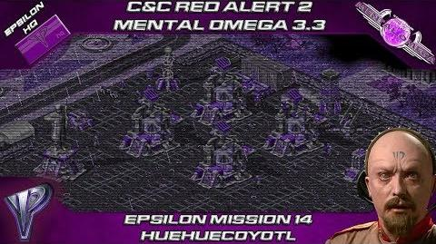 MENTAL OMEGA 3.3 RED ALERT 2 - Yuri Mission 14 HUEHUECOYOTL