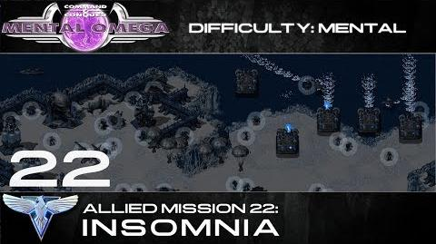 Mental Omega 3.3 Allied Mission 22 Insomnia