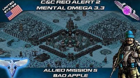 MENTAL OMEGA 3.3 RED ALERT 2 - Allied Mission 5 BAD APPLE