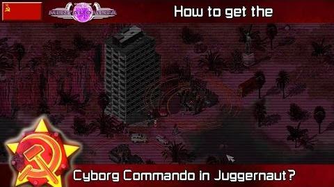 MENTAL OMEGA 3.3 RED ALERT 2 - Cyborg Commando in JUGGERNAUT
