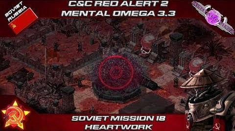 MENTAL OMEGA 3.3 RED ALERT 2 - Soviet Mission 18 HEARTWORK