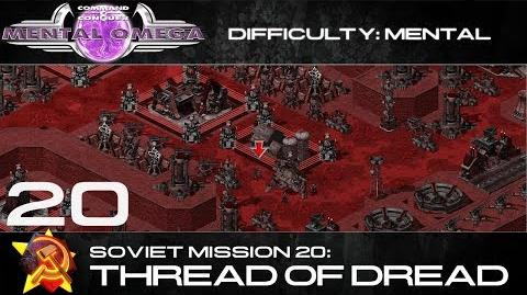 Mental Omega 3.3 Soviet Mission 20 Thread of Dread