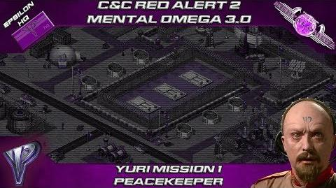 MENTAL OMEGA 3.0 RED ALERT 2 - Yuri Mission 1 PEACEKEEPER