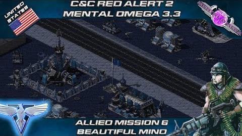 MENTAL OMEGA 3.3 RED ALERT 2 - Allied Mission 6 BEAUTIFUL MIND