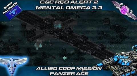Mental Omega 3.3 Red Alert 2 - Allied Coop Mission Panzer Ace