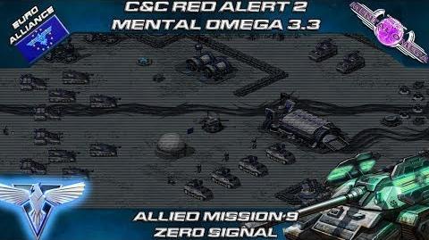 Mental Omega 3.3 Red Alert 2 - Allied Mission 9 ZERO SIGNAL