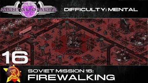 Mental Omega 3.3 Soviet Mission 16 Firewalking