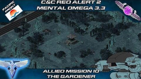 Mental Omega 3.3 Red Alert 2 - Allied Mission 10 THE GARDENER