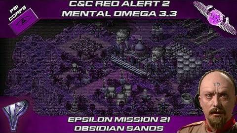 MENTAL OMEGA 3.3 RED ALERT 2 - Yuri Mission 21 OBSIDIAN SANDS