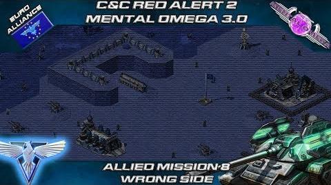 MENTAL OMEGA 3.0 RED ALERT 2 - Allied Mission 8 WRONG SIDE