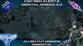 MENTAL OMEGA 3.0 Red Alert 2 - Allied Mission IMMORTAL