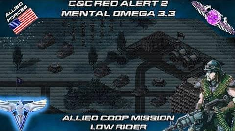 Mental Omega 3.3 - Allied Coop Mission Low Rider C&C Red Alert 2