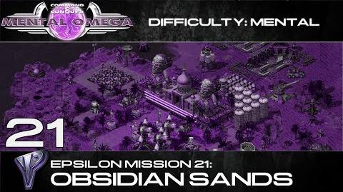 Mental Omega 3.3 Yuri's Epsilon Mission 21 Obsidian Sands