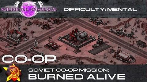 Mental Omega 3.3 Cooperative - Soviet Co-Op 01- Burned Alive
