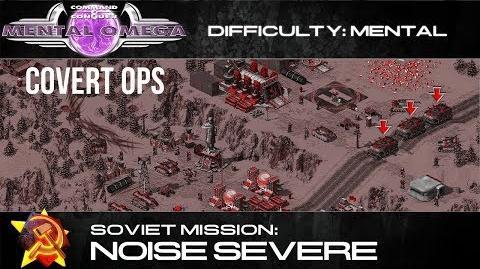 Mental Omega 3.3 Soviet Covert Op Noise Severe