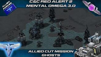 MENTAL OMEGA 3.0 Red Alert 2 - Allied Campaign Mission Ghosts