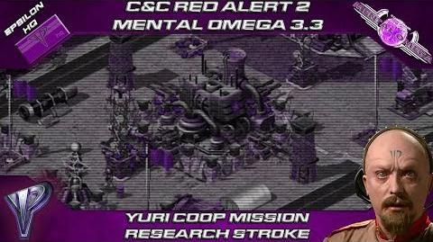 Mental Omega 3.3 Red Alert 2 - Yuri Coop Mission Research Stroke