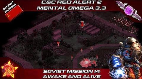 MENTAL OMEGA 3.3 RED ALERT 2 - Soviet Mission 14 AWAKE AND ALIVE