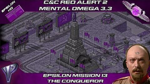 MENTAL OMEGA 3.3 RED ALERT 2 - Time Machine in THE CONQUEROR