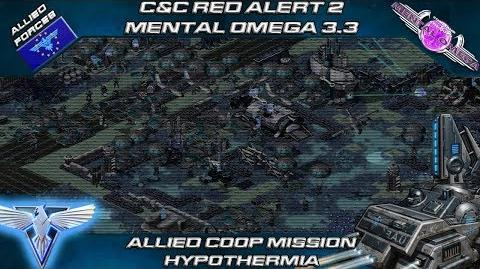 Mental Omega 3.3 - Allied Coop Mission Hypothermia C&C Red Alert 2