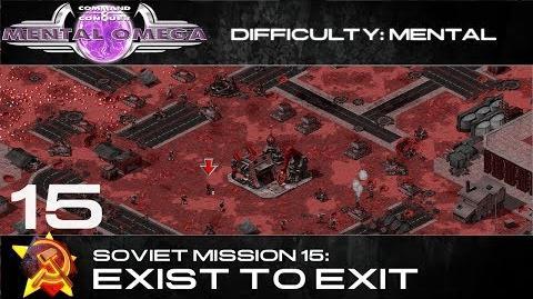 Mental Omega 3.3 Soviet Mission 15 Exist to Exit