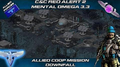 Mental Omega 3.3 Red Alert 2 - Allied Coop Mission Downfall