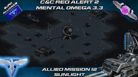 MENTAL OMEGA 3.3 RED ALERT 2 - Allied Mission 12 SUNLIGHT