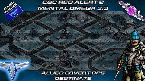 MENTAL OMEGA 3.3 RED ALERT 2 - Allied Mission OBSTINATE