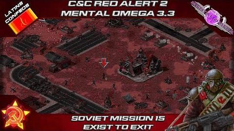 MENTAL OMEGA 3.3 RED ALERT 2 - Soviet Mission 15 EXIST TO EXIT