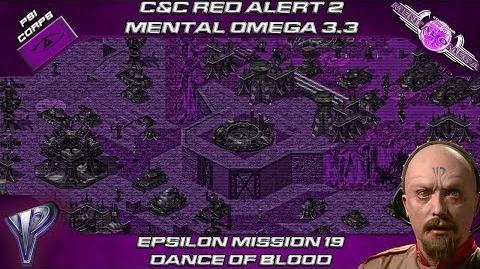 MENTAL OMEGA 3.3 RED ALERT 2 - Yuri Mission 19 DANCE OF BLOOD