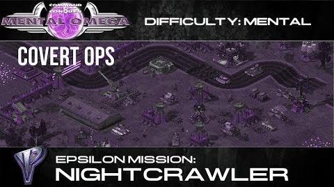 Mental Omega 3.3 Yuri's Epsilon Covert Op Nightcrawler