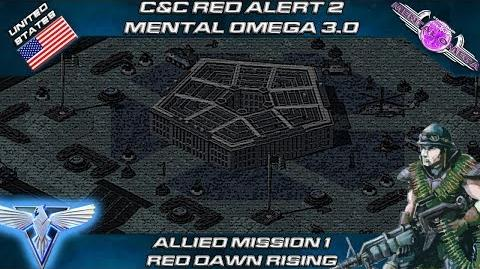 MENTAL OMEGA 3.0 RED ALERT 2 - Allied Mission 1 RED DAWN RISING