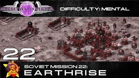 Mental Omega 3.3 Soviet Mission 22 Earthrise