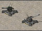 Tech Artillery Bunker