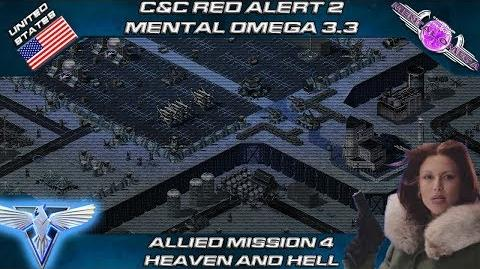 MENTAL OMEGA 3.3 RED ALERT 2 - Allied Mission 4 HEAVEN AND HELL