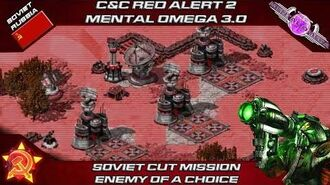 MENTAL OMEGA 3.0 Red Alert 2 Alpha - Soviet Mission Enemy Of a Choice
