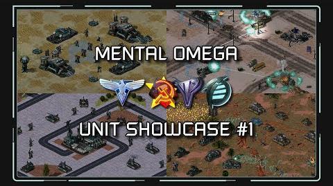 Red Alert 2 - Mental Omega 3.3 New Units Showcase 1