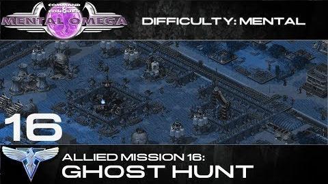 Mental Omega 3.3 Allied Mission 16 Ghost Hunt