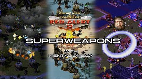 Red Alert 2 Yuri's Revenge All Superweapons with Mental Omega