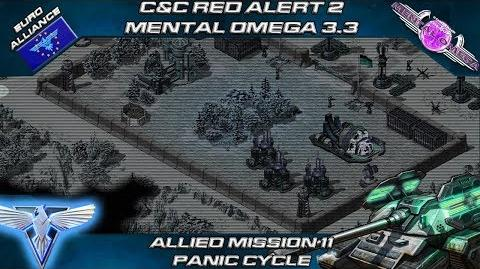 MENTAL OMEGA 3.3 RED ALERT 2 - Allied Mission 11 PANIC CYCLE