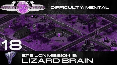 Mental Omega 3.3 Yuri's Epsilon Mission 18 Lizard Brain