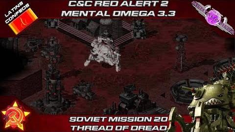 MENTAL OMEGA 3.3 RED ALERT 2 - Soviet Mission 20 THREAD OF DREAD