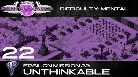 Mental Omega 3.3 Yuri's Epsilon Mission 22 Unthinkable