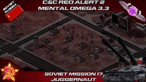MENTAL OMEGA 3.3 RED ALERT 2 - Soviet Mission 17 JUGGERNAUT