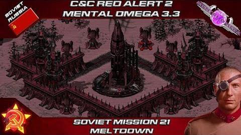 MENTAL OMEGA 3.3 RED ALERT 2 - Soviet Mission 21 MELTDOWN-0