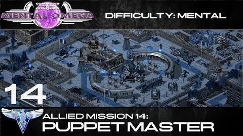 Mental Omega 3.3 Allied Mission 14 Puppet Master