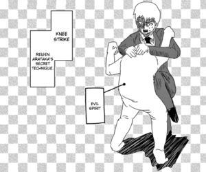 Reigen Special Technique - Knee Strike
