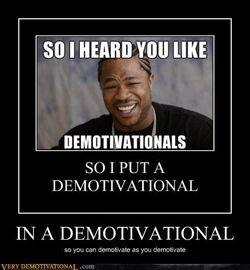 Demotivationals