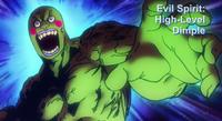 Dimple (high level evil spirit) anime
