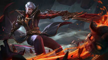 Alucard - Fiery Inferno Wall